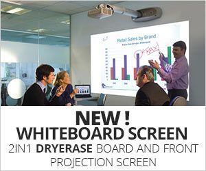 DRYERASE, Whiteboard screen